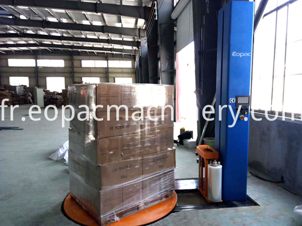 Hot Sale Stretch Film Wrapping Machine