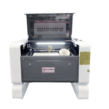 Multifunctio 4060 laser engraving cutting machine/ CNC co2 laser cutter engraver standard/simple rotary CW5000/3000 to choose