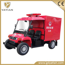 Popular 48V 2 Seater Water Tank Electric Car Fire Fighting Truck