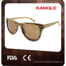 2015 Colorful wooden sunglasses frame in china