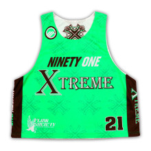 Kundenspezifische Sublimation Lacrosse Jersey in New Style mit hoher Qualität