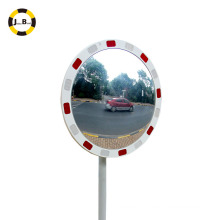 "24""reflective traffic safety convex mirror avoid traffic accident assit road safety wearproof"