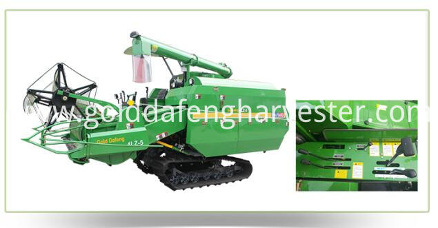 Self-propelled full feed rice combine harvester-Control system