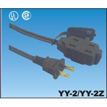 UL Approval American AC Power Cord Plug