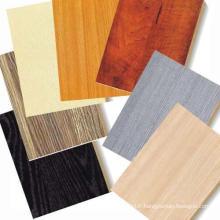 Contreplaqué mélaminé coloré de qualité pour le panneau de meubles