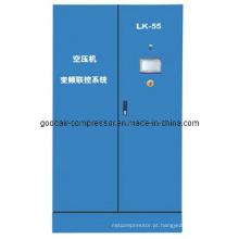 Sistema de controle de compressor de economia de energia