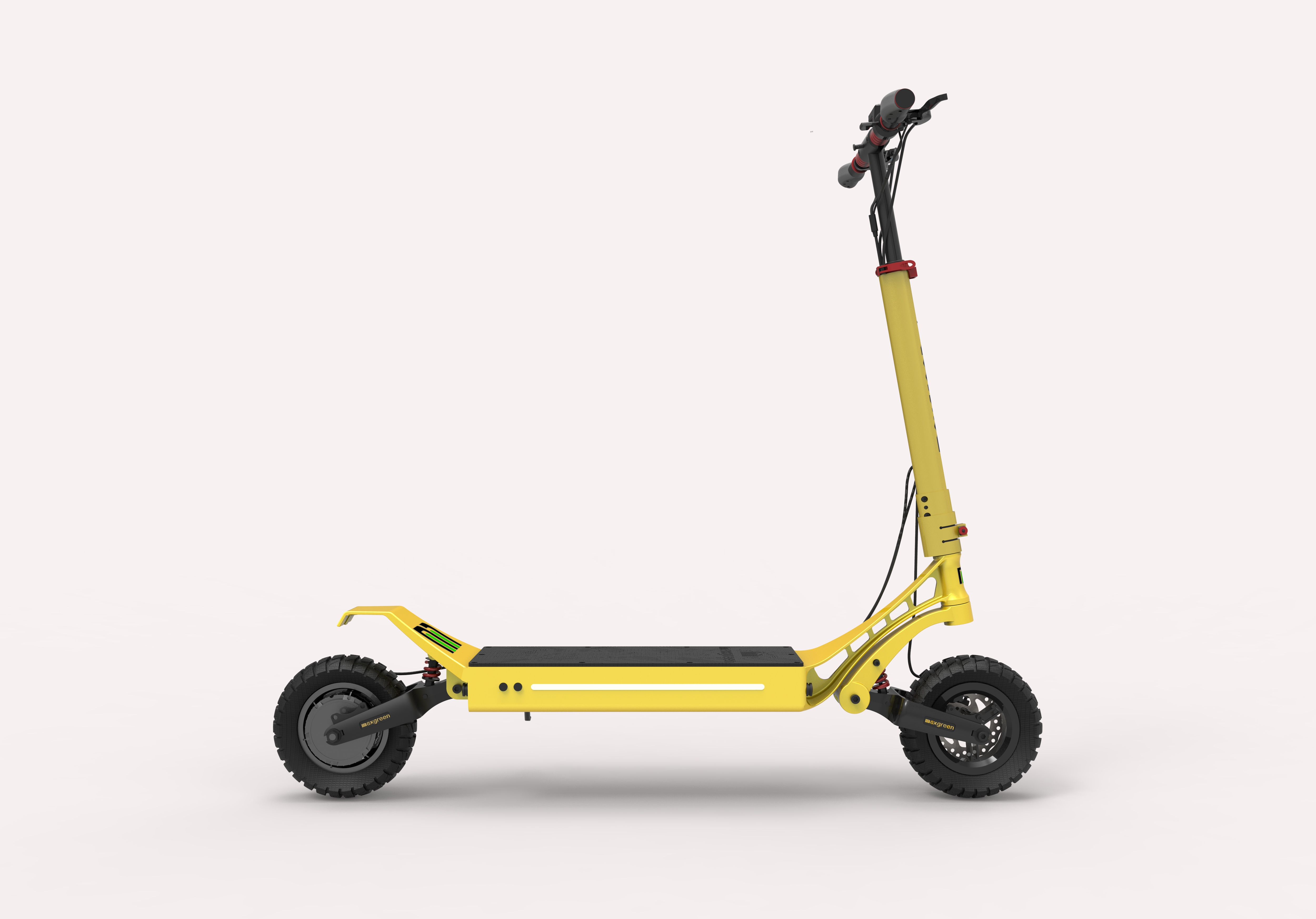Solid Tyre Electric Scoote