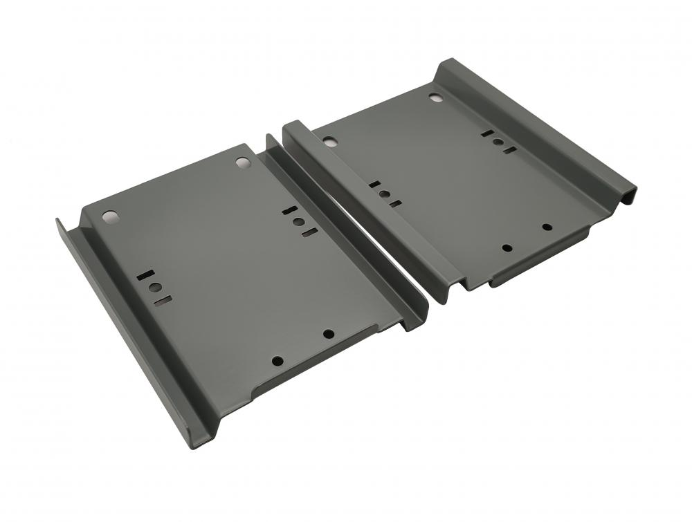 Sheet metal chassis of server cabinet