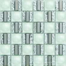 305X315mm Random Strip Glass Mosaic Tile in Foshan (AJH5805)