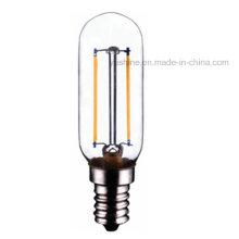 Bulbo del filamento del LED T25 2W CE