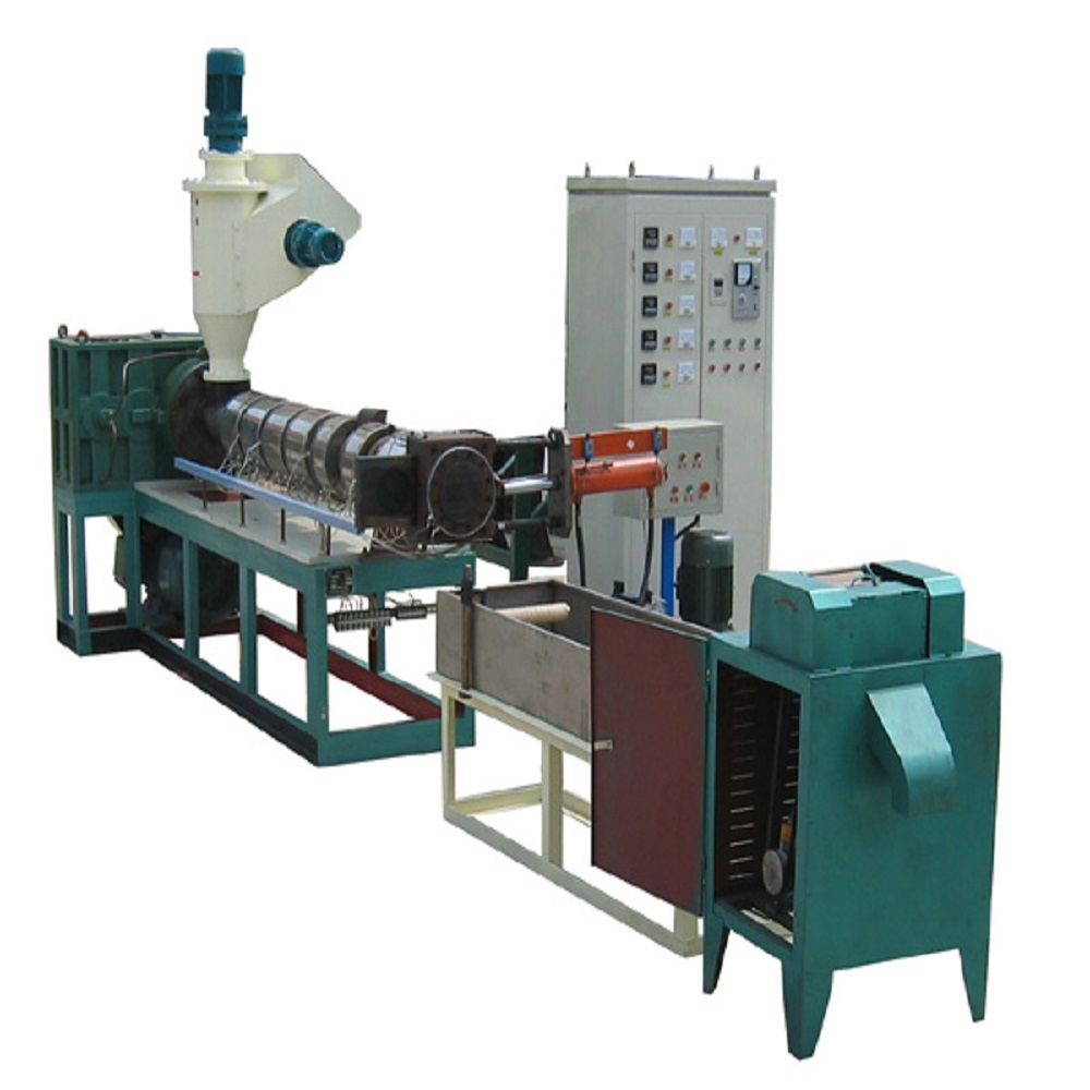 PET plastic extruder machine