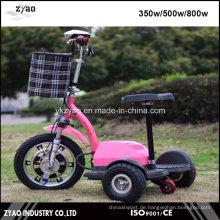 Behinderte Menschen Mobility Scooter mit Akku 3 Wheeler