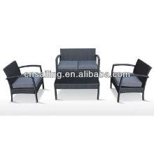 Вся погода Wicker New Design Высококачественная мебель из ротанга на открытом воздухе Секционная мебель для софа