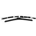 Carall S982 Hot 2017 Brand New Super Plus Vision Saver Windshield Clear View Эксклюзивная скорость Flat Soft Soft Щетка стеклоочистителя