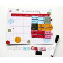 China supplier wholesale hot item magnetic schedule board