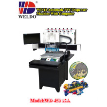 WD Visual and Touch 12 Colors PVC&Silicon Dispenser Machine