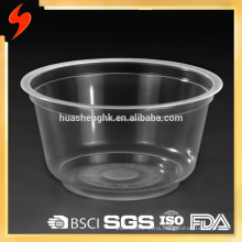 Food Grade Microwavable 500ml Disposable Plastic Pasta Bowl