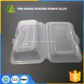 ясный пластичный устранимый контейнер еды