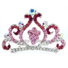 Fashion Curve Shape Cute Children Party Ornaments Crown Comb