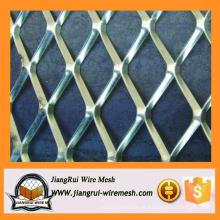 Malha metálica expandida em aço inoxidável de alta qualidade galvanizada malha de metal expandido