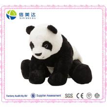2 em 1 lifelike panda boneca de pelúcia panda brinquedo travesseiro