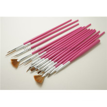 Ручка для ногтей из дерева с медным наконечником