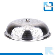 Herramienta de cocina de acero inoxidable cúpula plato plato cubierta de alimentos