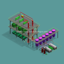 Continuous Crude Oil Refinery Machine For Sale
