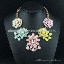 flower necklace jewelry 2015 fashion luxury necklace SN-034