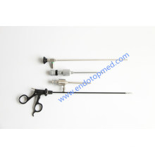 0deg 5X300mm Veterinary Laparoscope Thoracoscope with Trocar, Forceps
