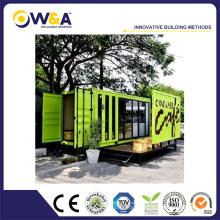 20ft / 40ft Container Maisons préfabriquées à faible coût