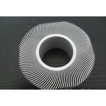 En aluminium collé dissipateur de chaleur d'aileron