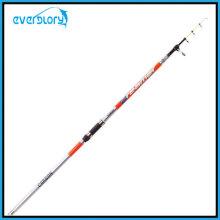 Promotion carbone Tele Surf Rod dans la canne à pêche de longueur différente