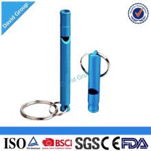 Venta al por mayor promocional de alta calidad de impresión de seguridad de metal silbato