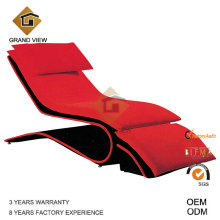 Chaise de loisirs mobilier canapé tissu (GV-BS551)
