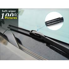 S950 High Carbon Aço Inoxidável Auto Peças Acessórios Do Carro Rhd LHD U-Gancho Clear View Flat Wiper Blade