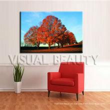 Cópia moderna da lona da árvore / impressão da arte na lona impressão em canvas