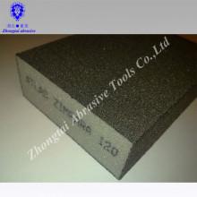 Esponja de lixamento da espuma impermeável do óxido de alumínio para o metal