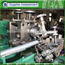 Machine pour conduit métallique flexible