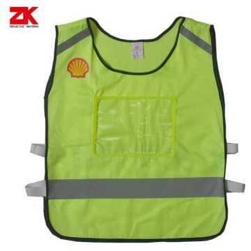 Roadway warning reflective clothes