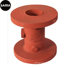 DIN Valve Body Sand Iron Casting with Ductile, Grey Iron