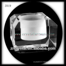 Bougeoir en cristal populaire Z019