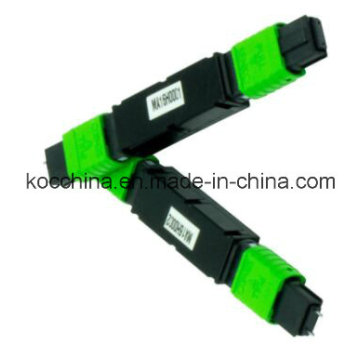 MPO / MTP Feber Optik Attanuator avec la veste verte pour CATV utiliser Koc Chine