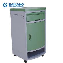 Armário médico do ABS móvel do hospital SKS003 com rodízios