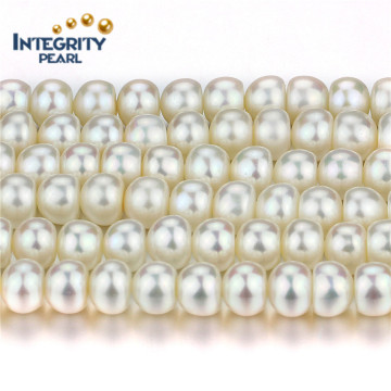Freshwater 8mm AAA Natural Fresh Water Pearl Strand