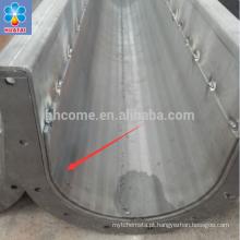 Dupla camada Usado para esteira e elevador de aço carbono de frutos de palma
