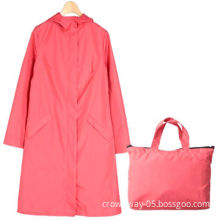 Fashionable Outdoor Travel Women's/Girls' Waterproof Riding Clothes Raincoat/Poncho, Comfortable