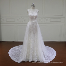 french lace a-line bridal dresses with low back