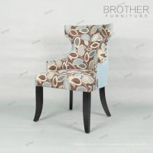 Fauteuil de loisir design / fauteuil en tissu coloré
