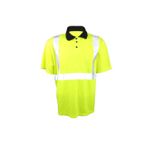 Reflective safety short-sleeve T-shirt